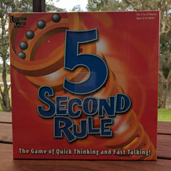 5 Second Board Game