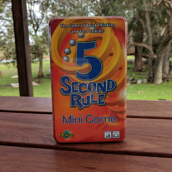 5 Second Rule Travel Tin