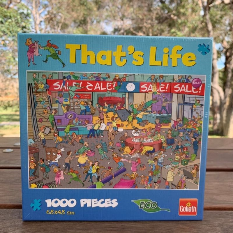 That's Life Jigsaw Puzzle - Sale 1000