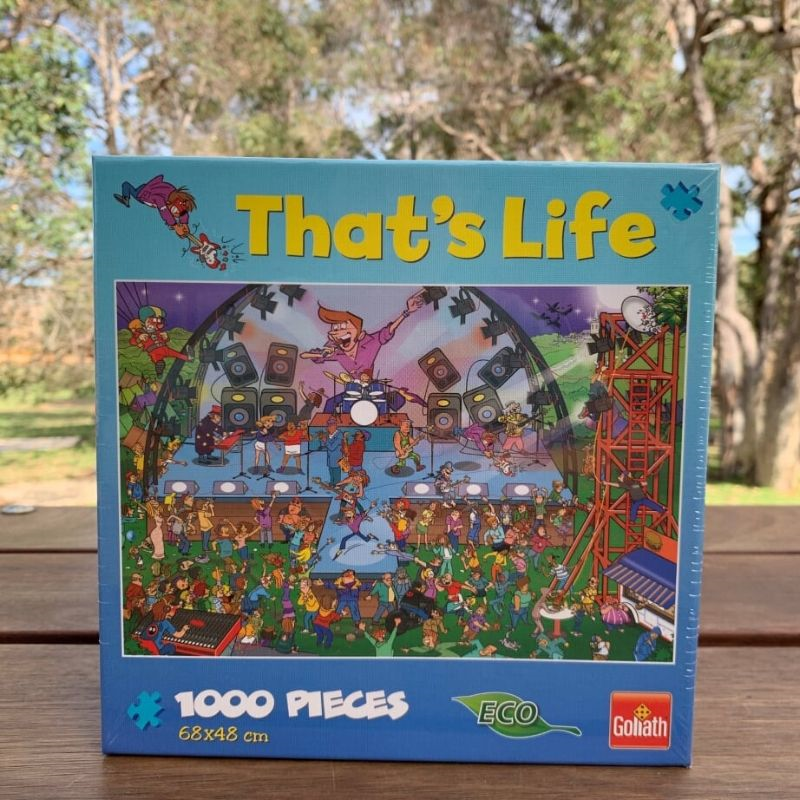 That's Life - Pop Concert Jigsaw Puzzle 1000