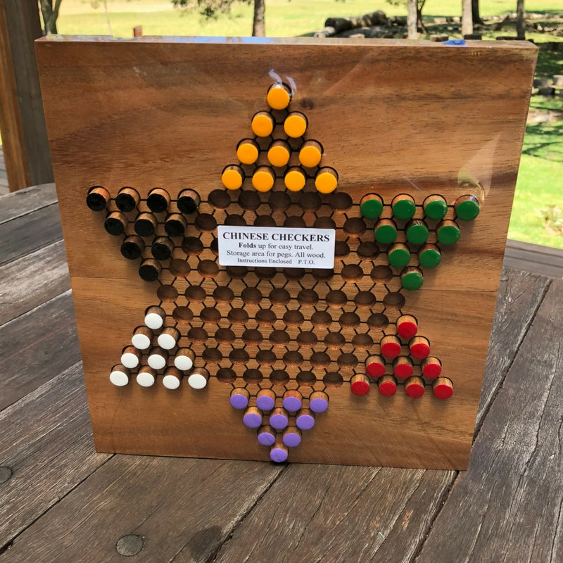 Chinese Checkers Folding