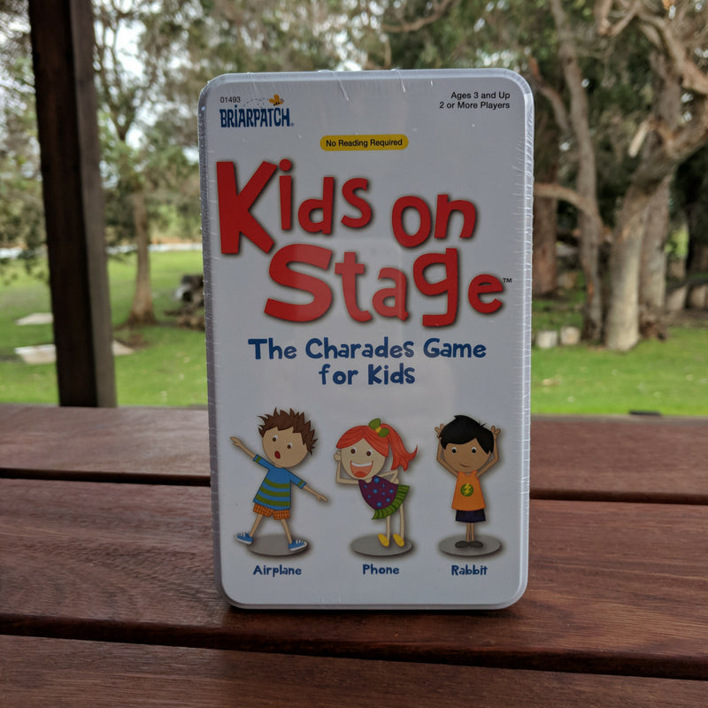 Kids On Stage travel tin