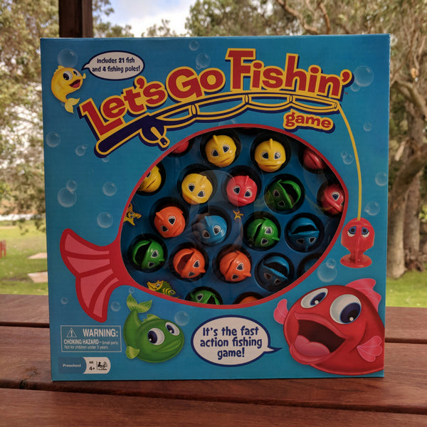 Let's Go Fishin game