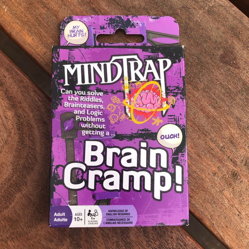 Mindtrap Brain Cramp card game