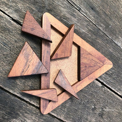 Tangrams Triangle 6 pc