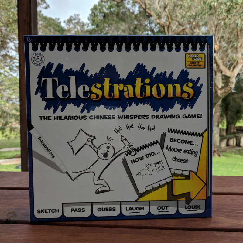 drawing game telestrations Telestrations