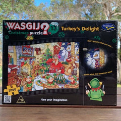 Wasgij 1000 Turkey's Delight