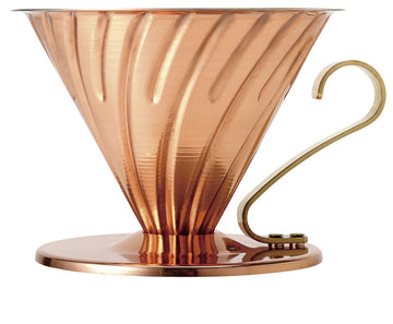 V60 02 Copper Coffee Dripper by Hario - Clandestine Coffee Co.