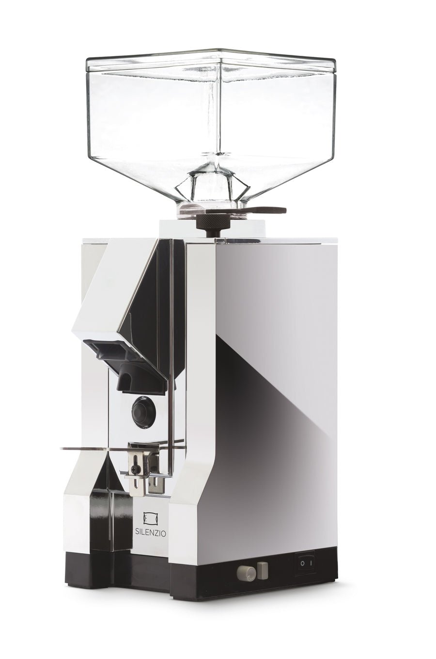 Chrome Mignon Silenzio Espresso Grinder by Eureka - Clandestine Coffee Co.