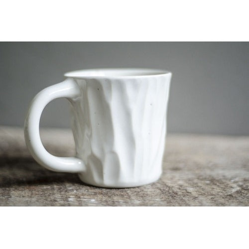 Short White Lumber Mug-Coffee Mug-Clandestine Coffee Co.