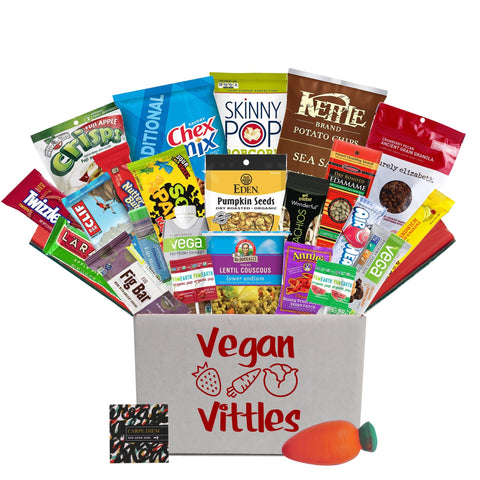 Vegan Vittles Exam Care Package
