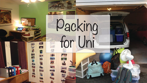 university packing list