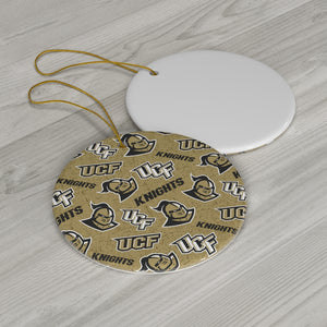 UCF Ceramic Ornaments (2pcs)