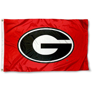 University of Georgia UGA Bulldogs Flag