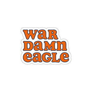Auburn War Eagle Sticker