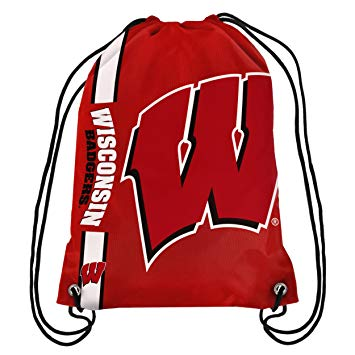 Wisconsin Badgers Drawstring Backpack