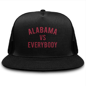 Alabama vs Everybody Trucker Cap