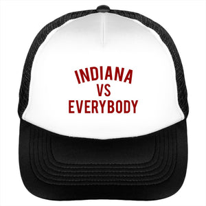 Indiana vs Everybody Trucker Cap
