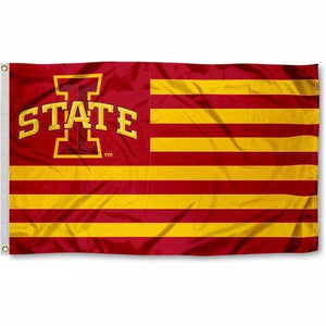 Iowa State University Striped Flag