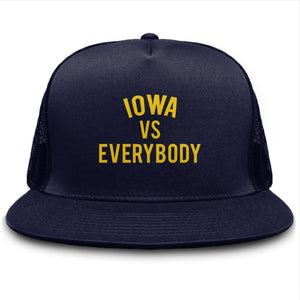 Iowa vs Everybody Trucker Cap
