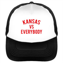 Kansas vs Everybody Trucker Cap