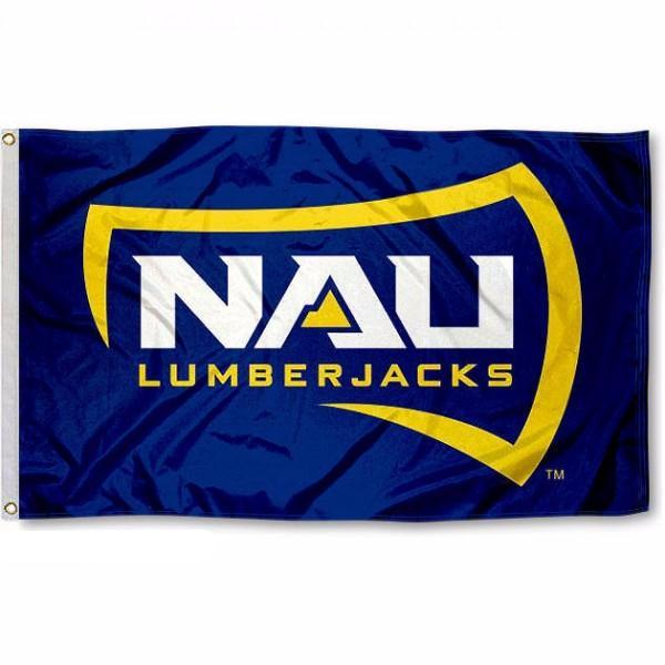 NAU Northern Arizona University Flag