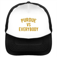 Purdue vs Everybody Trucker Cap