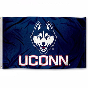 UCONN University of Connecticut Flag