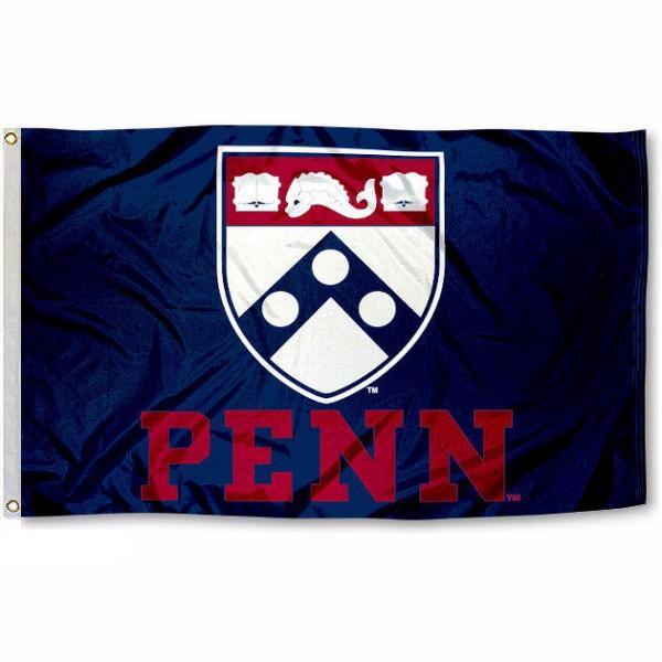 University of Pennsylvania Flag