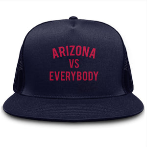 Arizona vs Everybody Trucker Cap