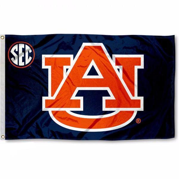 Auburn University Tigers Flag