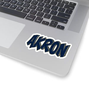 Akron Sticker