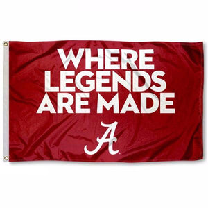 University of Alabama - Where Legends are Made Flag