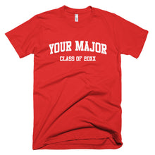 Customize Your Major T-Shirt