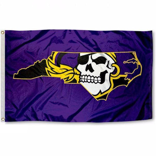East Carolina University Pirates Flag