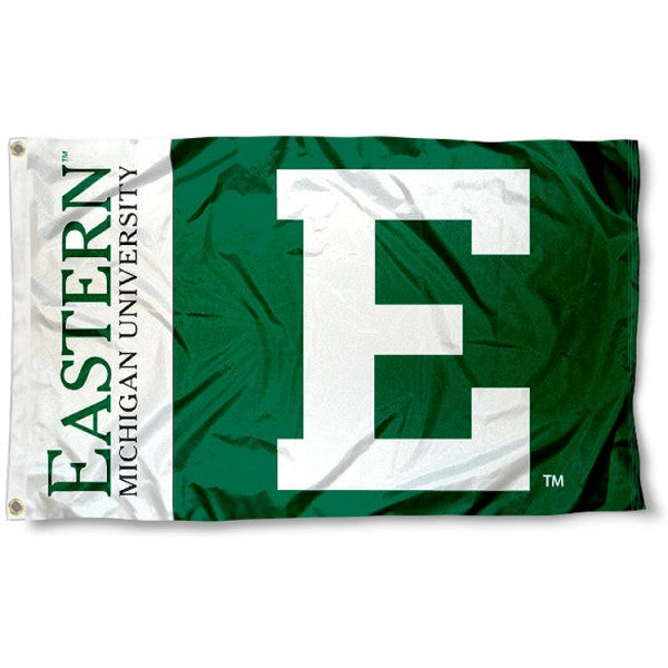 Eastern Michigan University Eagles Flag