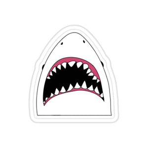 Cartoon Shark Sticker