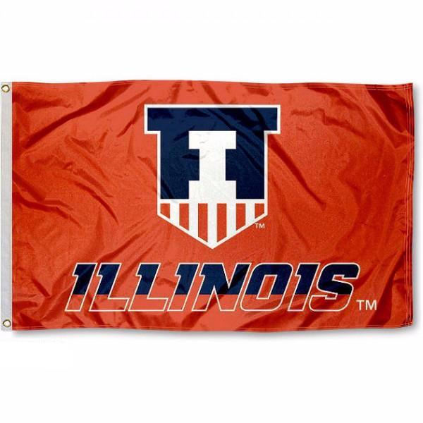 University of Illinois Illini Flag