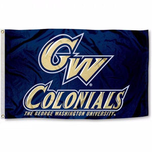 George Washington Colonials Flag