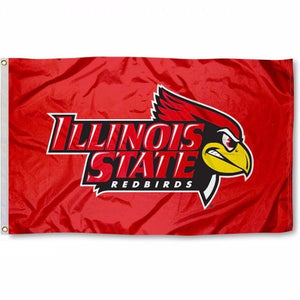 Illinois State Redbirds Flag