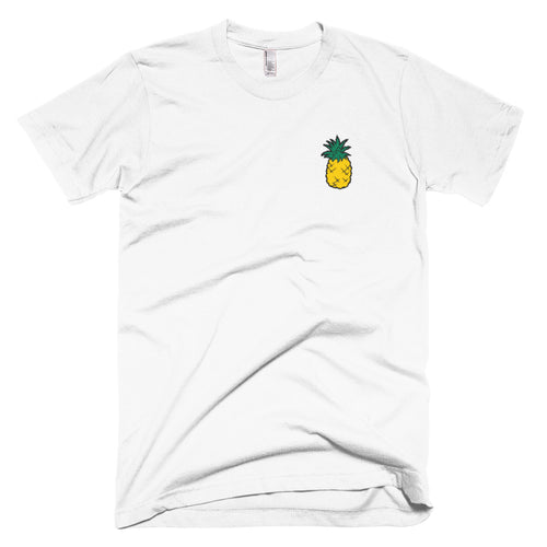 Original Pineapple Embroidered T-Shirt