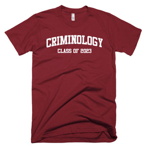 Criminology Major Class of 2023 T-Shirt