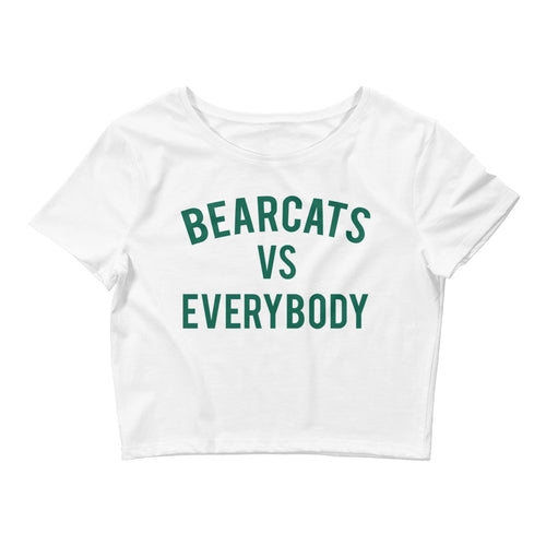 Bearcats vs Everybody Crop Tee