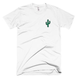 Original Cactus Embroidered T-Shirt