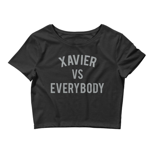 Xavier vs Everybody Crop Tee