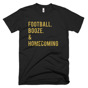 UCF Football. Booze. & Homecoming T-Shirt