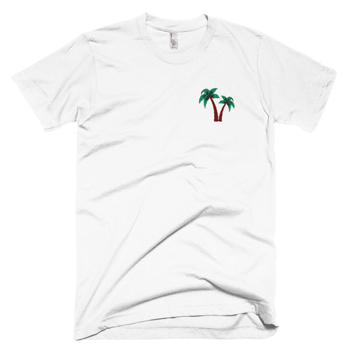 Original Palm Tree Embroidered T-Shirt