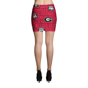 University of Georgia Mini Skirt
