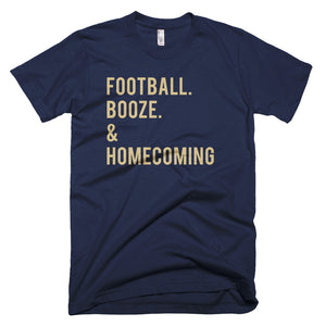 BYU Football. Booze. & Homecoming T-Shirt