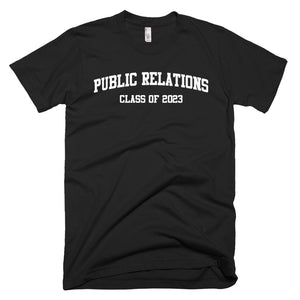 Public Relations Major Class of 2023 T-Shirt